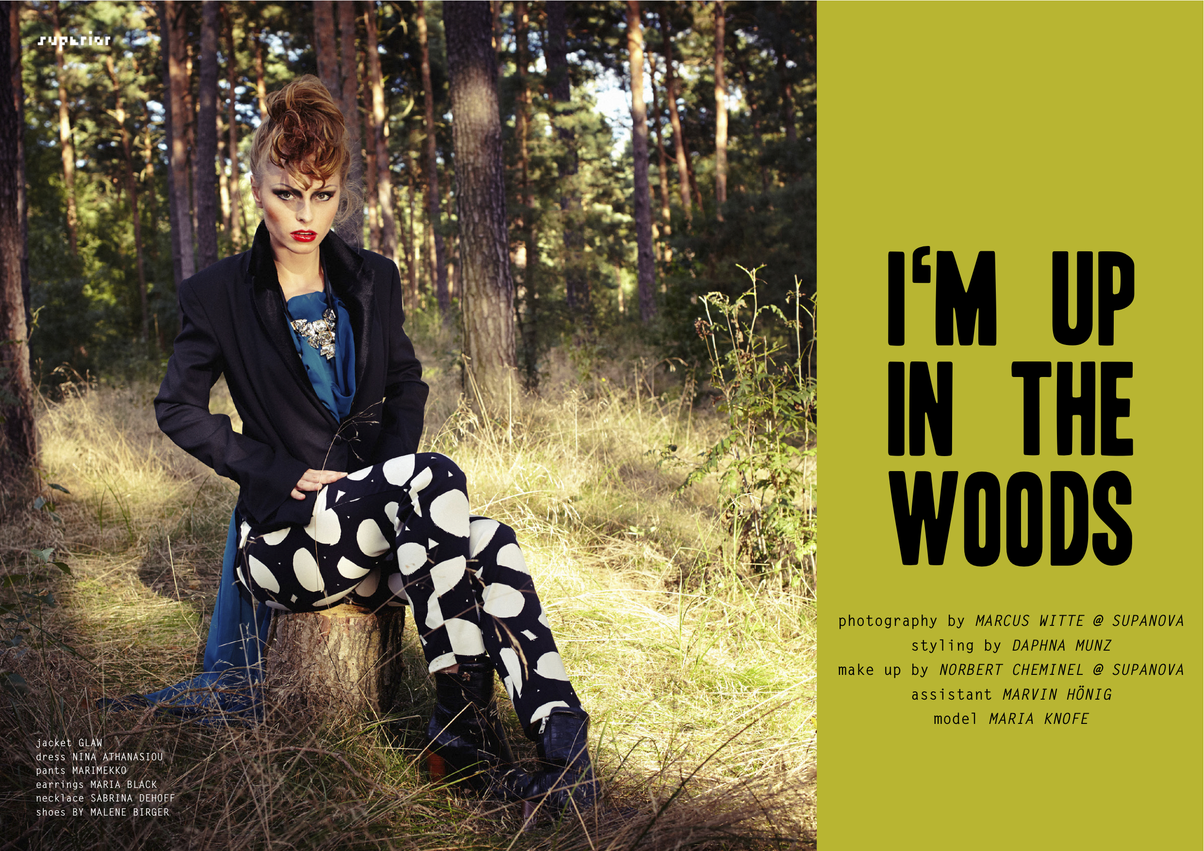 I'M UP IN THE WOODS_SuperiorMagazine_maria_knofe1